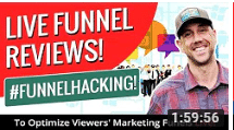 Miles Beckler Live Funnel Reviews! #FunnelHacking To Optimize Viewers' Marketing Funnels Live!
