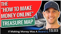 Miles Beckler The How To Make Money Online Treasure Map - If Making Money Was A Board Game