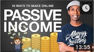 Roberto Blake- 10 ways to earn passive income online!
