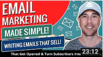 Miles Beckler Email Marketing Made Simple! How To Write Emails That Get Opened & Turn Subscribers Into Customers.