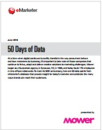 50 Days of Data-eMarketer