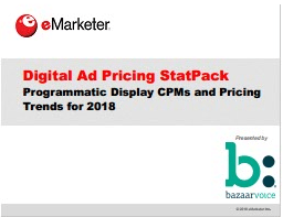 Digital Ad Pricing StatPack 2018-eMarketer