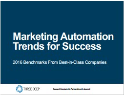 Marketing Automation Trends For Success-Three Deep