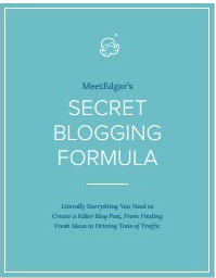 Secret Bloggin Formula-MeetEdgar's