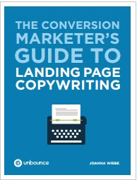 The Conversion Marketer's Guide to Landing page Copywriting-Unbounce