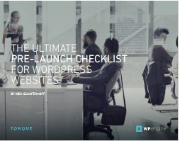 The Ultimate Pre-Launch CheckList For WordPress Websites-WP Engine
