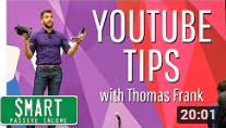 YouTube Video Production Tips with Thomas Frank (& How Pat Flyn-He Got to 1m Subscribers!)