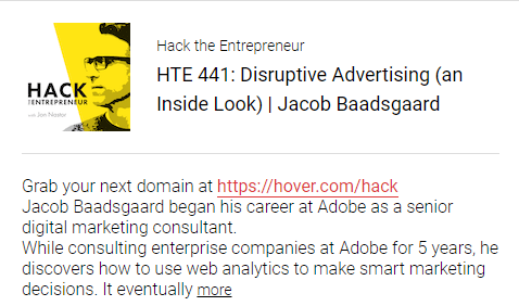 Disruptive Advertising (an inside look) Jacob Baadsgaard