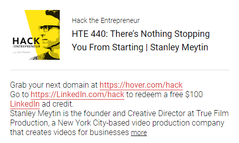 There's nothing stopping you from starting | Stanley Meytin