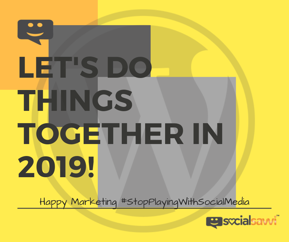 Let's do things together 2019!